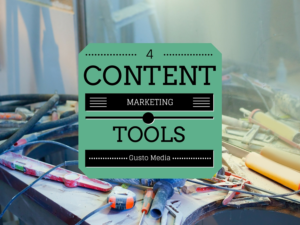 4  onmisbare contentmarketing tools